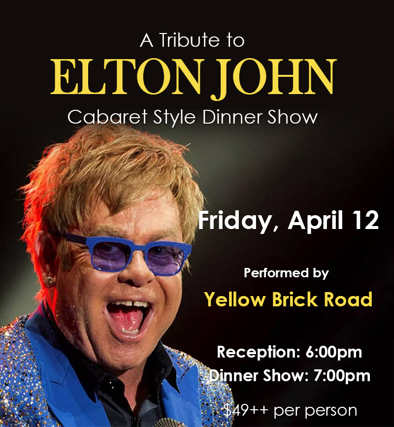 A Tribute to Elton John - Water's Edge Resort and Spa