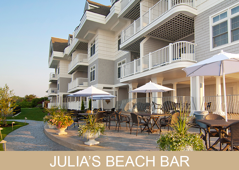 Julias Beach Bar - Water's Edge Resort and Spa