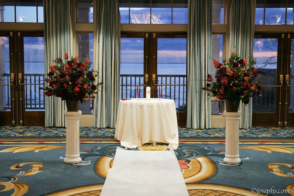 Royal Ballroom Wedding - Water's Edge Resort and Spa