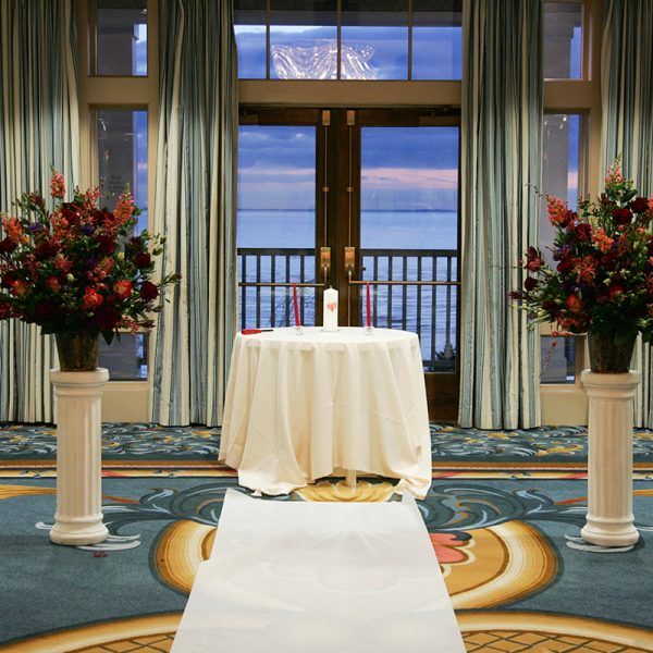 Royal Ballroom Wedding - Water's Edge Resort and Spa