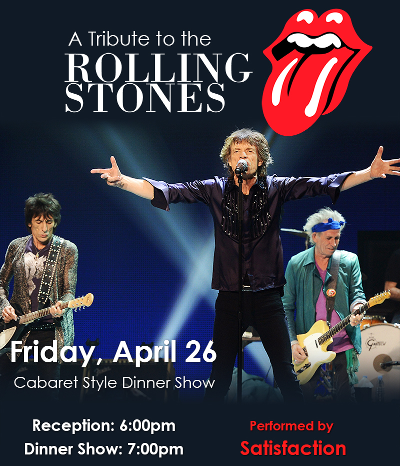 A Tribute to the Rolling Stones - Water's Edge Resort and Spa