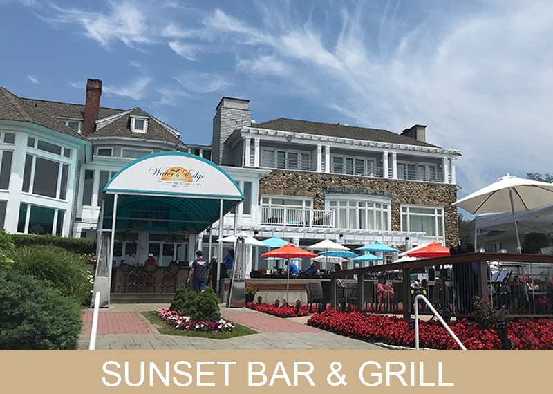 Sunset Bar & Grill - Water's Edge Resort and Spa